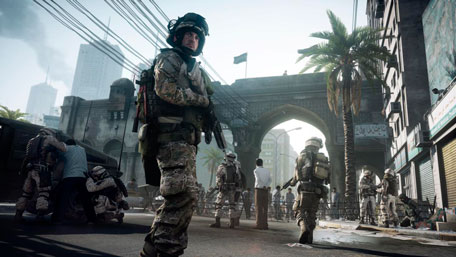 Copyright 2011 (c) Electronic Arts Inc. för Battlefield 3